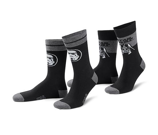 Ponožky Star Wars, 2 páry