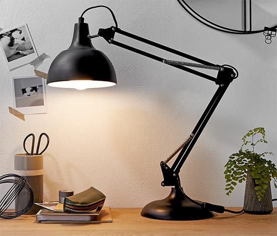 LED-Tischleuchte im Retro-Design