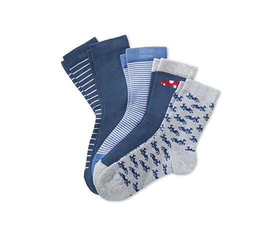 5 pár zokni szettben