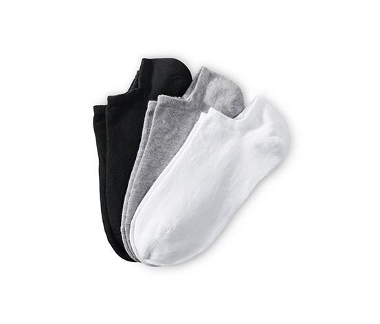 Dámske krátke ponožky, 3 páry