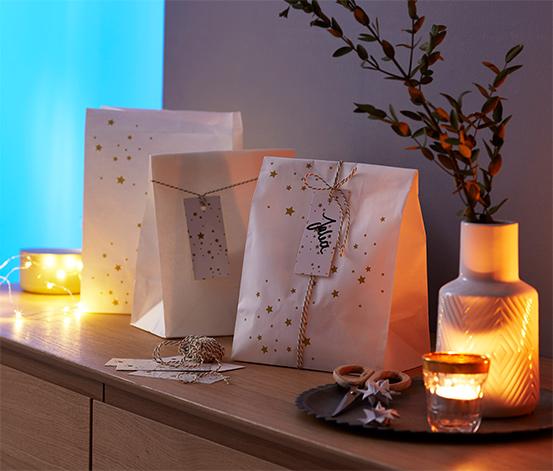Adventný kalendár a súprava darčekových vrecúšok, XL