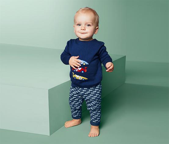 Dziecięce spodnie dresowe bawełniane