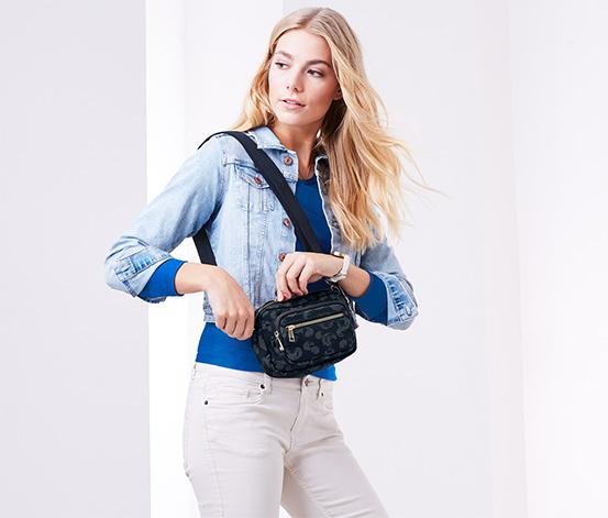Bezpieczna torba do noszenia na pasku i na ramieniu