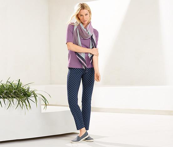 Elastické nohavice s dĺžkou po členky
