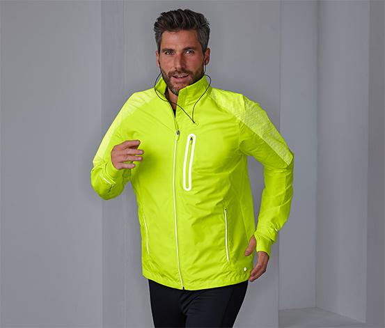 Przeciwwiatrowa męska kurtka do biegania