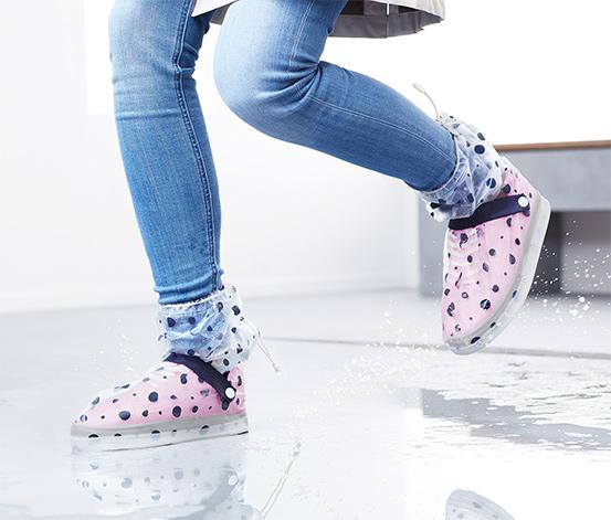 Nepremokavé návleky na topánky