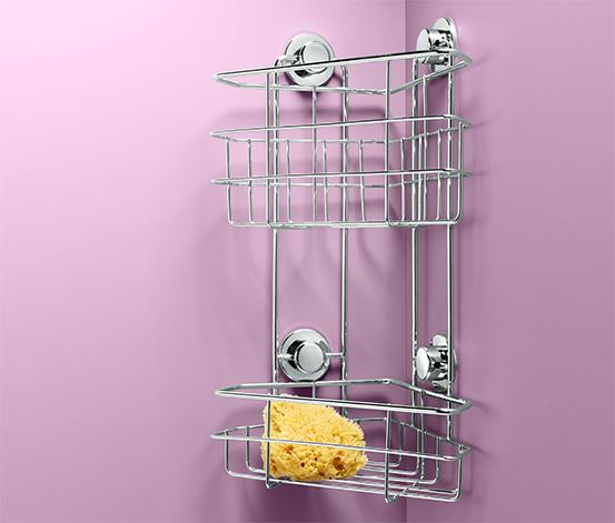 Koszyk narożny pod prysznic