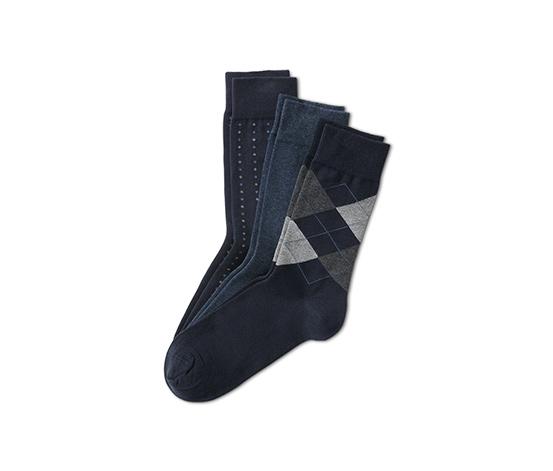 3 pár zokni szettben