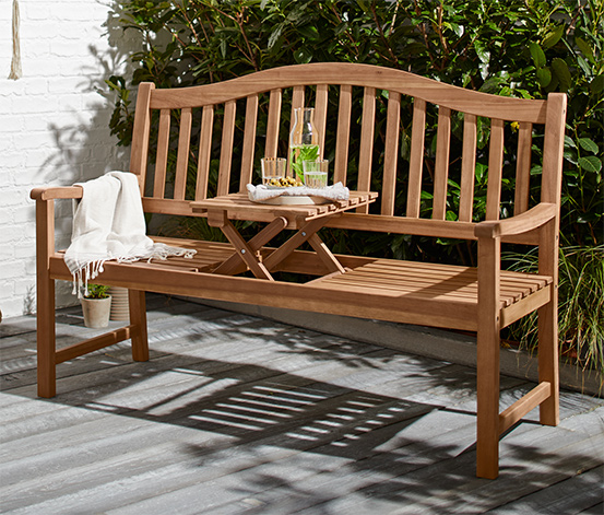 Zahradní lavice pro 3 osoby
