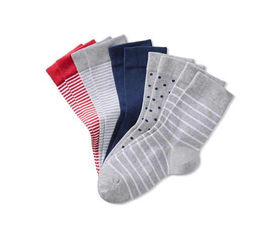 Gri Organik Pamuklu Çorap
