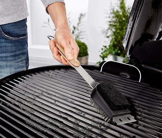 Paslanmaz Çelik Barbekü Temizleme Fırçası