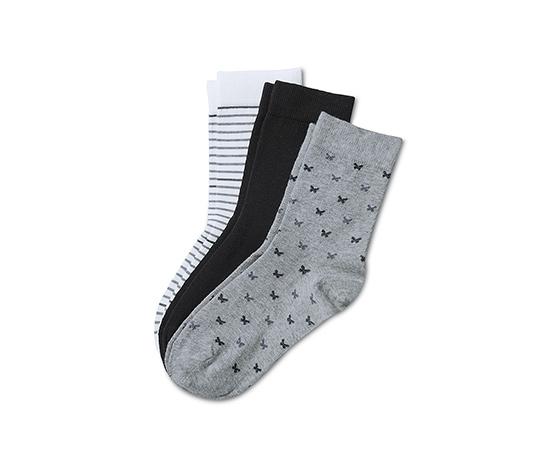 Dámske ponožky, 3 páry