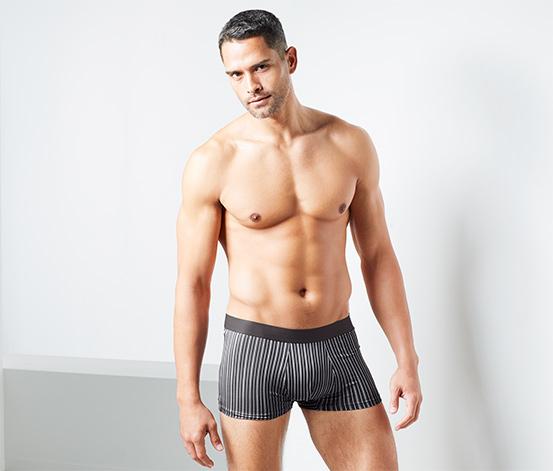 2 férfi mikroszálas boxer alsónadrág szettben