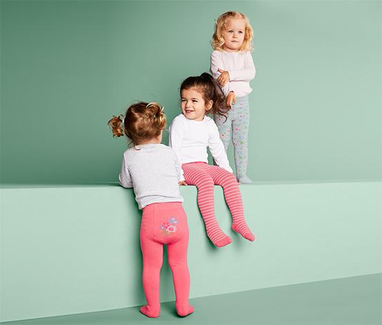 Rajstopy z bawełną dla chłoców i dziewczynek, 3 pary