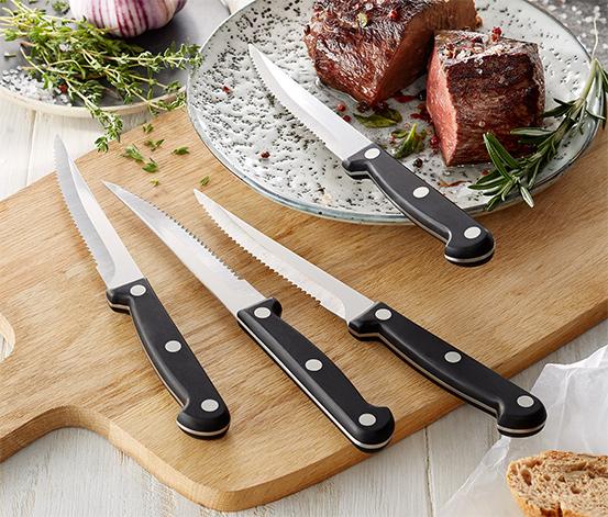 4 couteaux à steak