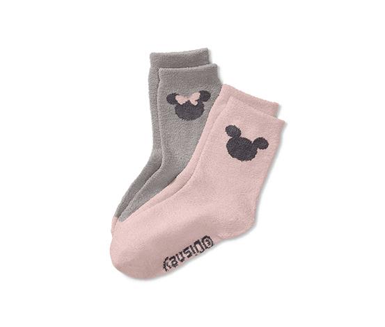 2 paires de chaussettes moelleuses «Disney»