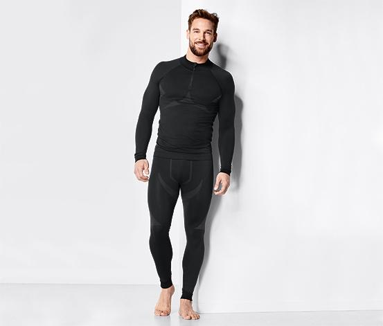 Férfi varrás nélküli funkcionális aláöltözet