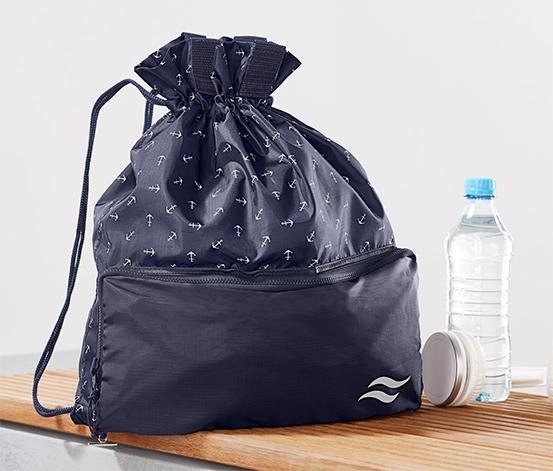 2 en 1 : sac de shopping et sac à dos