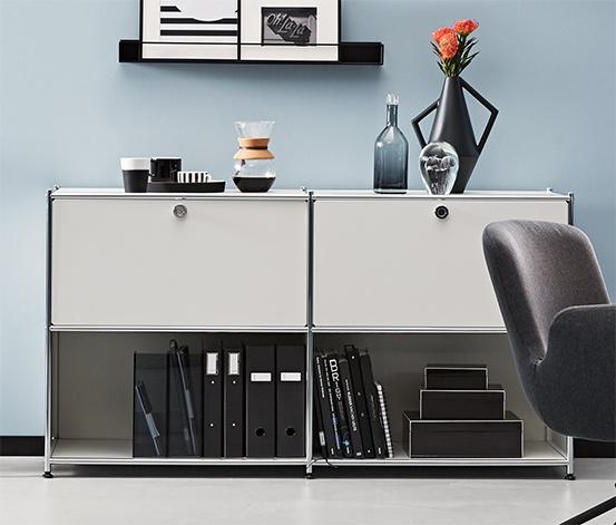 Kárpitos íróasztali szék, sötétszürke