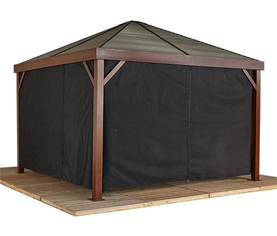 Sojag-Pavillon-Vorhang-Set