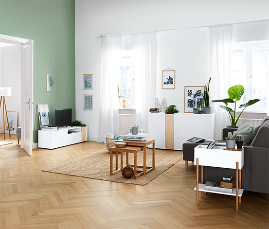 Bepflanzbares TV-Lowboard