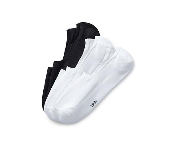 Sportowe skarpety stopki »invisible«, 3 pary