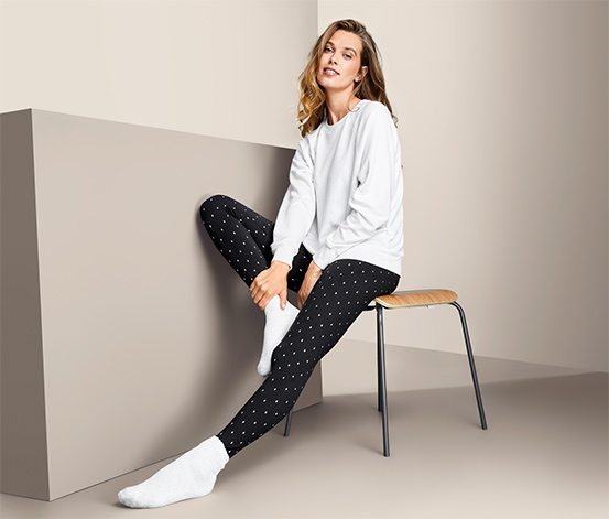 Leggings mit Alloverprint