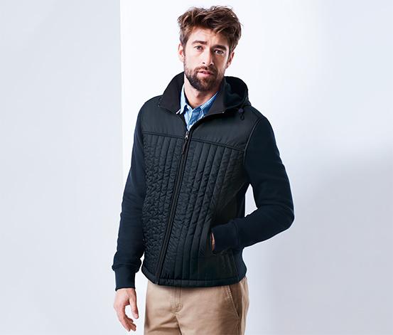 Pikowana kurtka dresowa