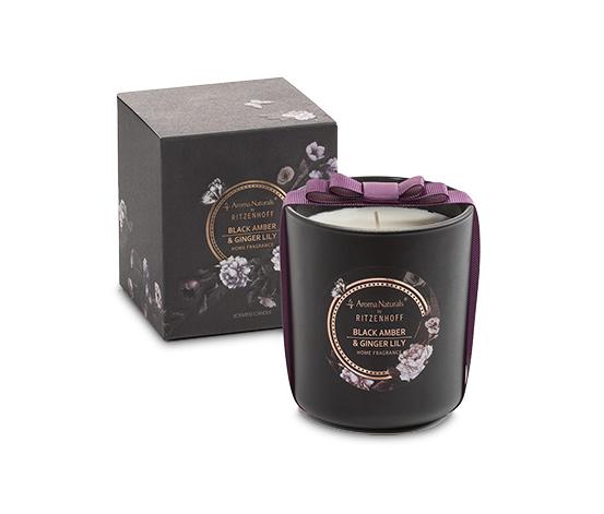 Ritzenhoff Aroma Naturals Duftkerze »Noir«, Black Amber