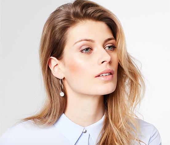 Ohrhänger mit Muschelkernperle
