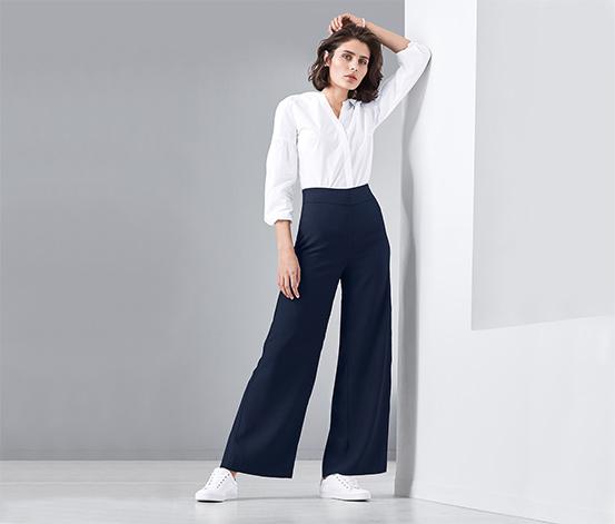 Szerokie spodnie damskie
