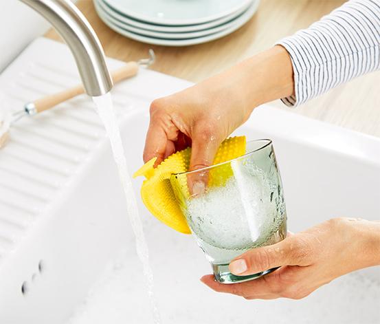 Silikonowe myjki do naczyń, 2 sztuki