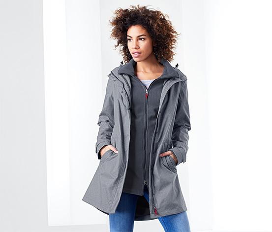Funkční outdoorový kabát