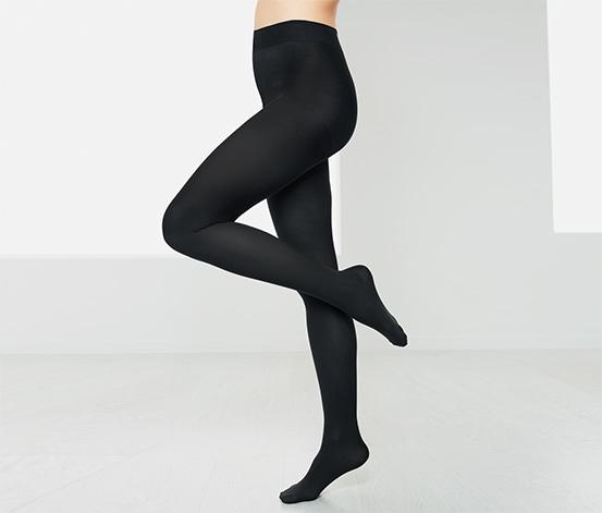 Neprůhledné punčochové kalhoty, 2 ks