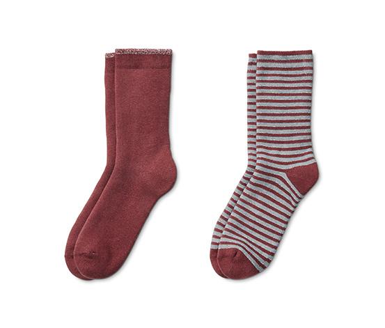 Měkoučké ponožky, 2 páry