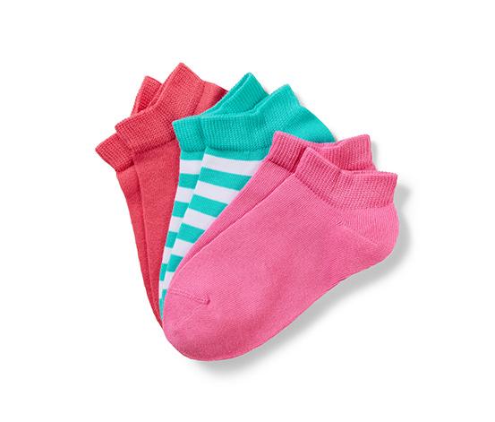 Renkli Organik Pamuklu Spor Ayakkabı Çorabı