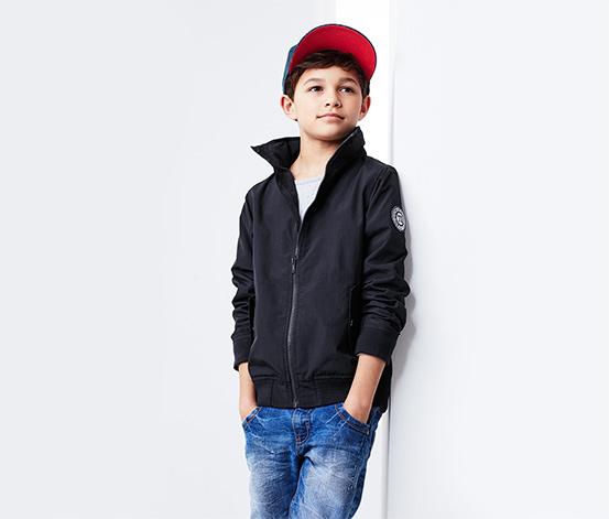 Fiú kabát, sötétkék