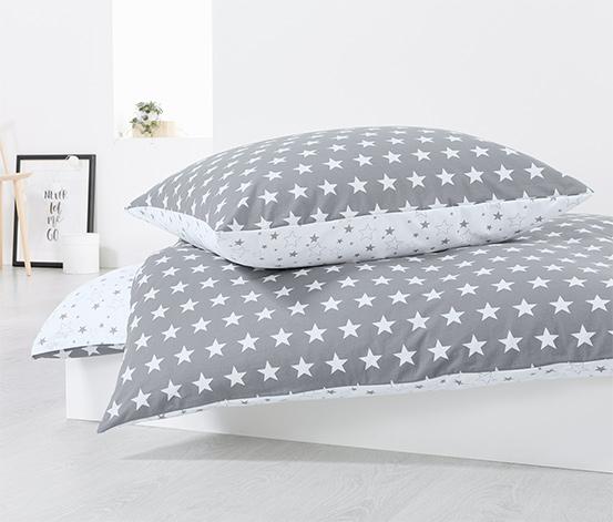 Kétoldalas jersey ágynemű, kétszemélyes