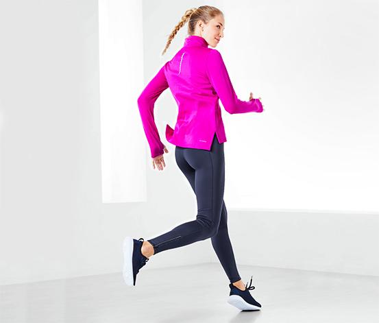 Női termo futónadrág, kék