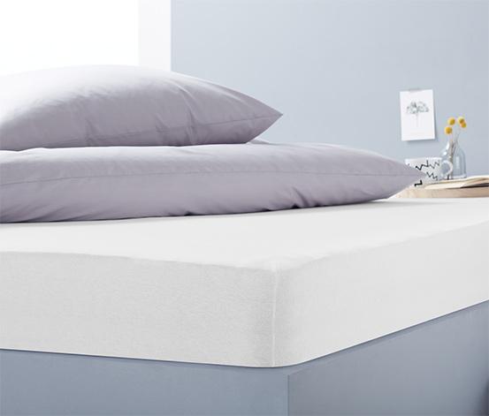 Jersey gumis lepedő magas matracokhoz, dupla
