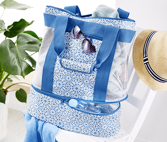 Plážová taška s chladicí přihrádkou