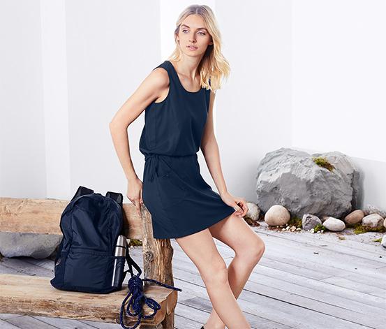 Denizci Mavisi Dryactive Plus Fonksiyonel Elbise