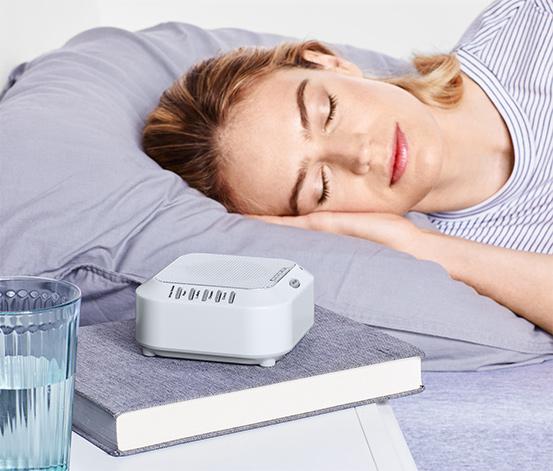 Elalvást segítő hangterápiás készülék