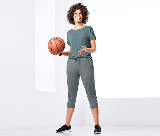 Trojštvrťové športové nohavice