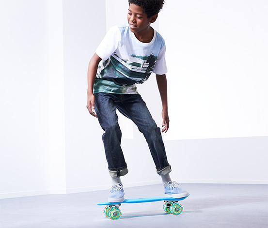 Skateboard s LED