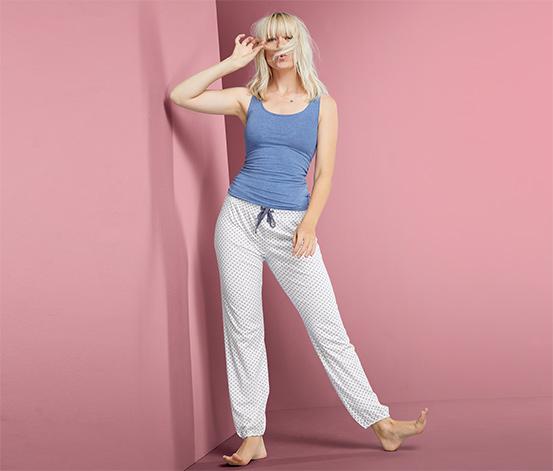Organik Pamuklu Jersey Rahat Pantolon