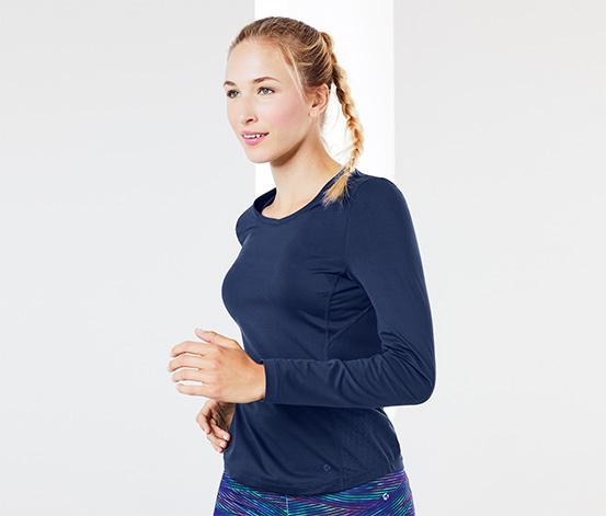 Damska koszulka funkcyjna z długim rękawem