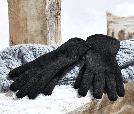 Rukavice z pleteného fleecu