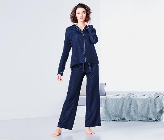 Jacquard-Pyjama