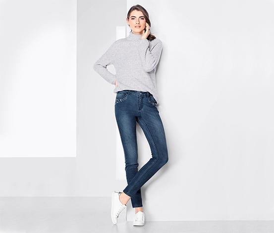 Jeans med slim fit